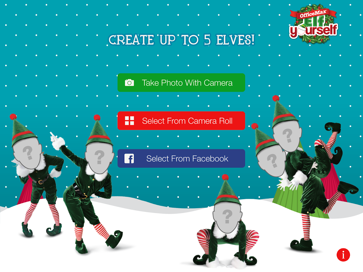 Elfyourself by Officemax - screenshot
