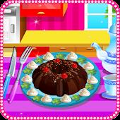 Cozinhe o bolo de chocolate