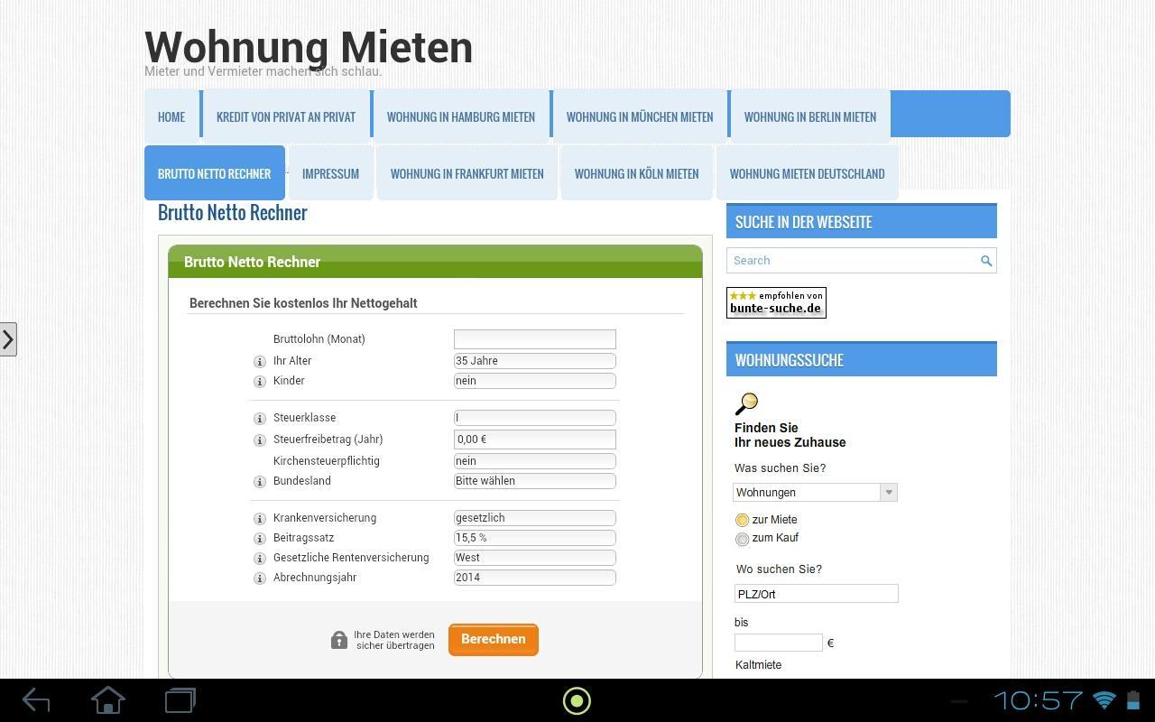 Wohnung mieten deutschland android apps on google play for Eine wohnung mieten