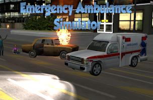 Screenshot of emergency ambulance simulator