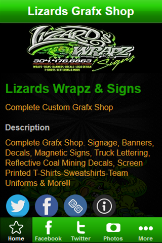 Lizards Wrapz Signs