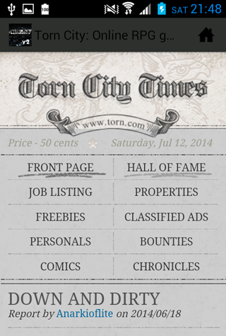 Play Torn City
