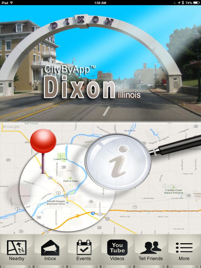 CityByApp® Dixon! - screenshot