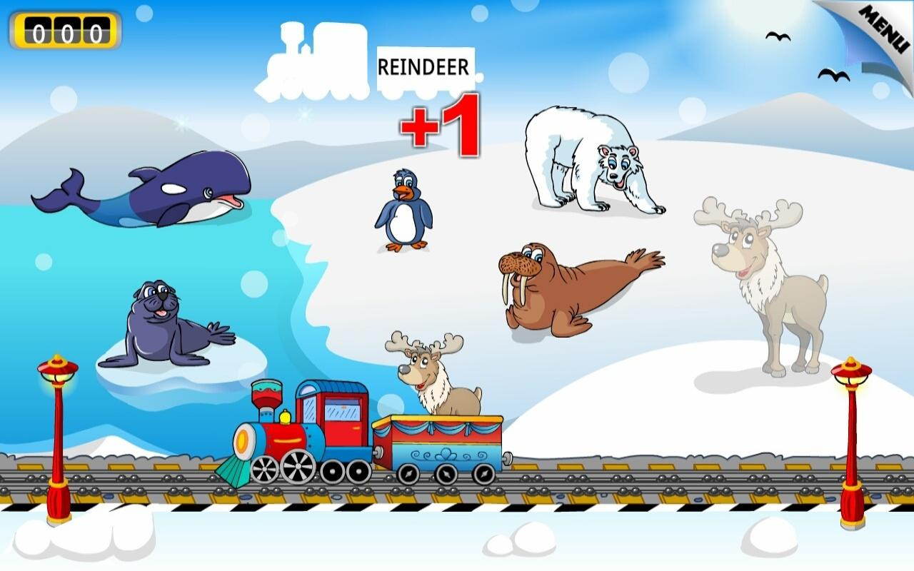 Kids Animal Train - First Word - screenshot
