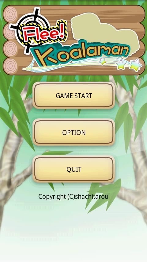 Flee!Koalaman- screenshot