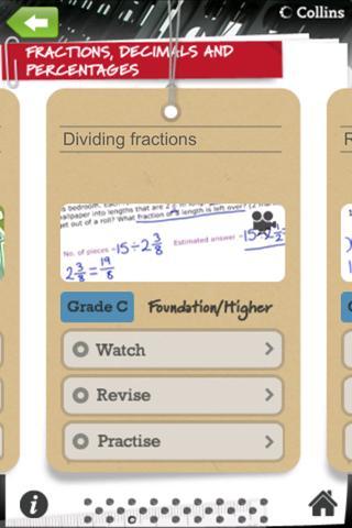 Collins Revision Number- screenshot