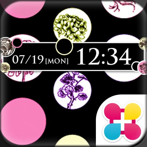Dots & Flowers Wallpaper Theme Icon