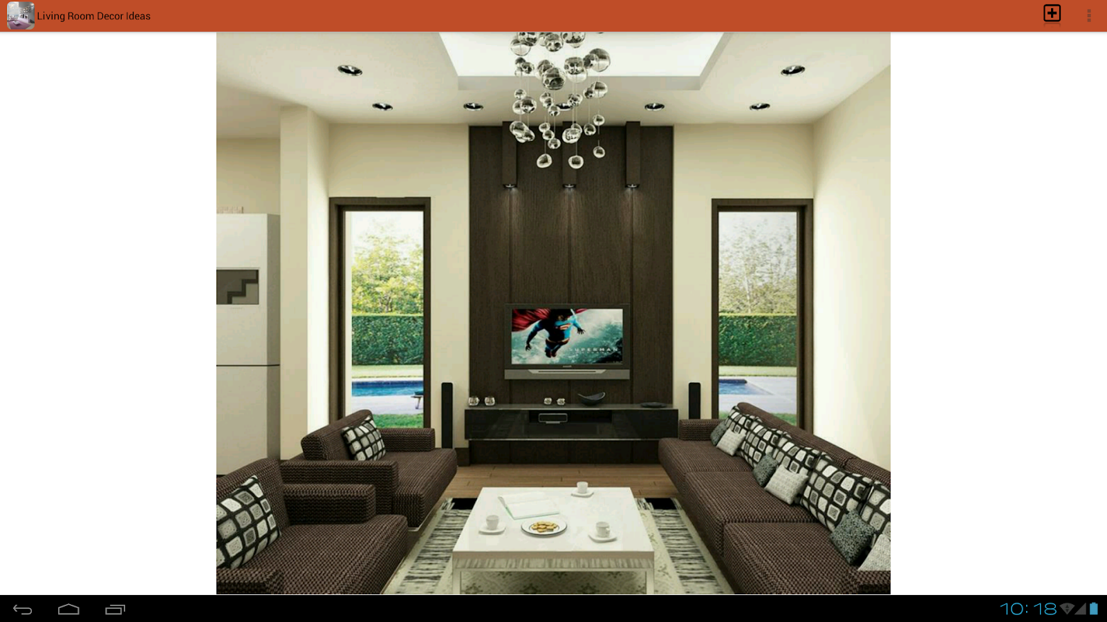 Living room decor ideas android apps on google play for Living room design app