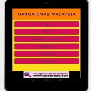 Harga Emas Malaysia