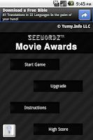 Screenshot of SeeWordz™ Movie Awards Free