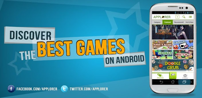 Applorer: Find Best FREE Games 11.2.0 apk