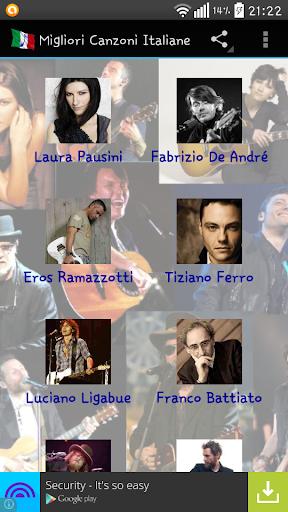 Migliori Canzoni Italiane