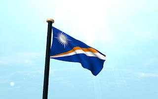 Screenshot of Marshall Islands Flag 3D Free