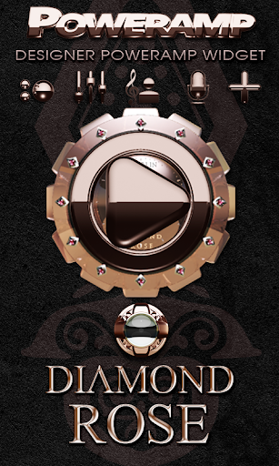 Poweramp Widget Diamond Rose