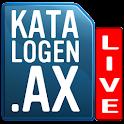 Katalogen.ax LIVE logo