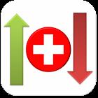 Bourse suisse icon