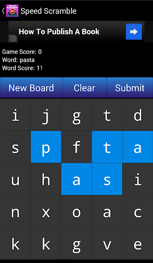 Speed Word Scramble