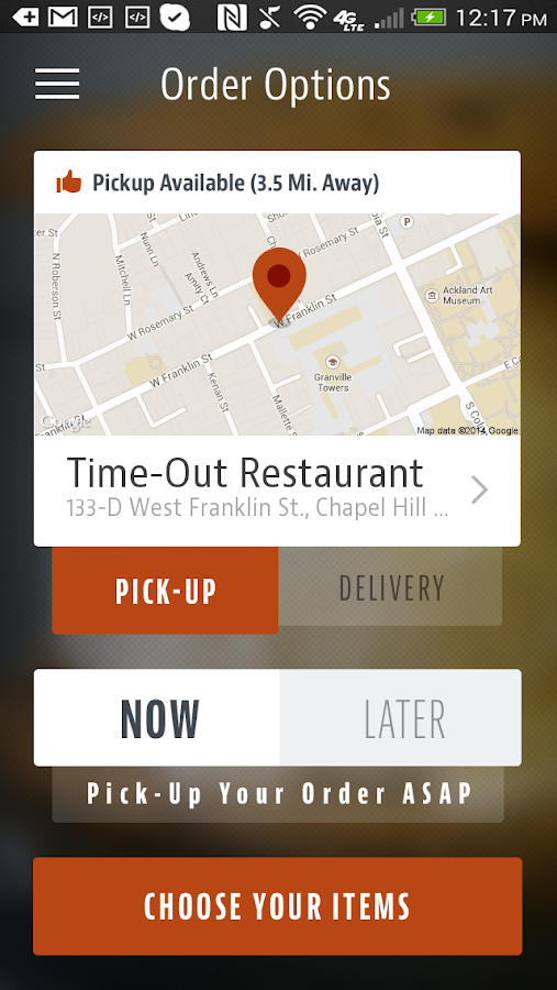 Time-Out Restaurant- screenshot