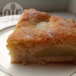 Almond And Pear Tart.