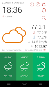 GidiWeather - Flat Weather UI screenshot 5
