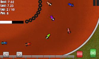 Screenshot of Dirt Racing Mobile Midgets