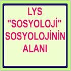LYS SOSYOLOJİ NİN ALANI icon