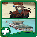 Beach Rescue Team Parking icon