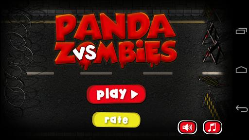 Panda vs Zombie: Elvis rage