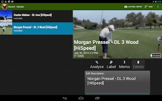 Screenshot of V1 Golf