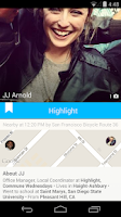 Screenshot of Highlight - People nearby
