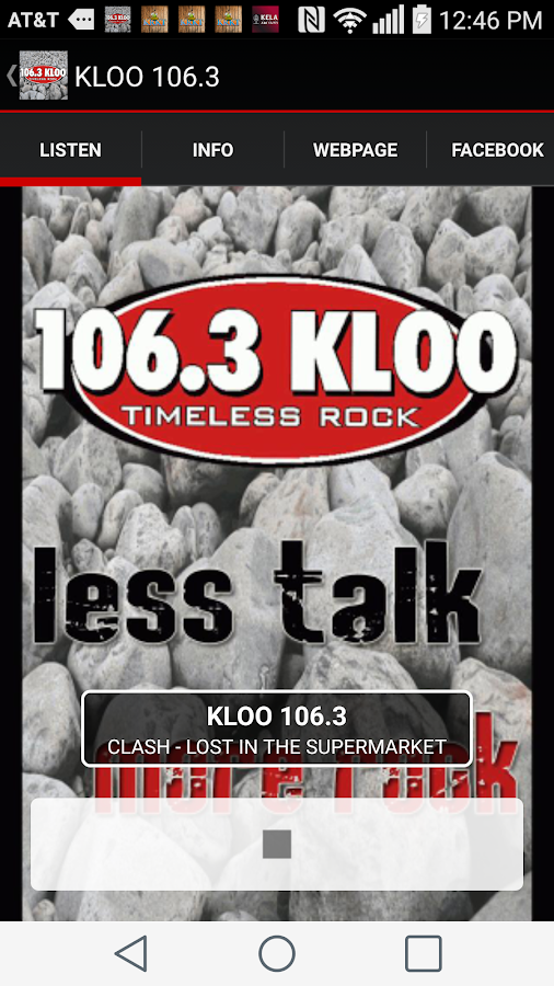 KLOO 106.3- screenshot