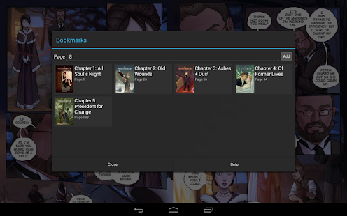 ComicRack - screenshot thumbnail
