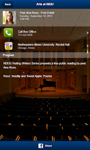 Arts at NEIU- screenshot thumbnail