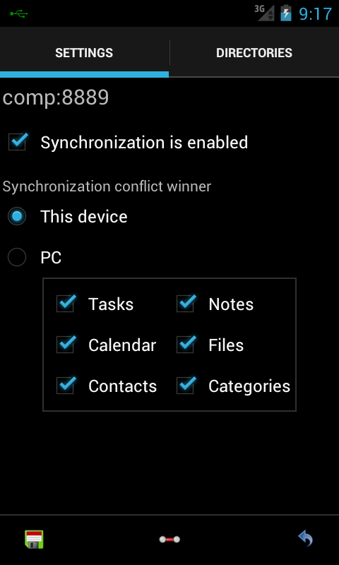 Local Sync - screenshot