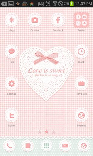 Love is sweet go locker theme