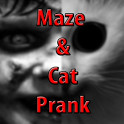 Maze & Cat Prank icon