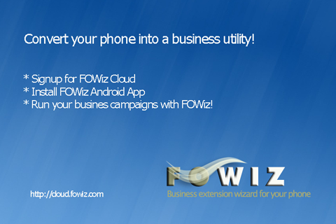 Fowiz Missed Call SMS Service- screenshot