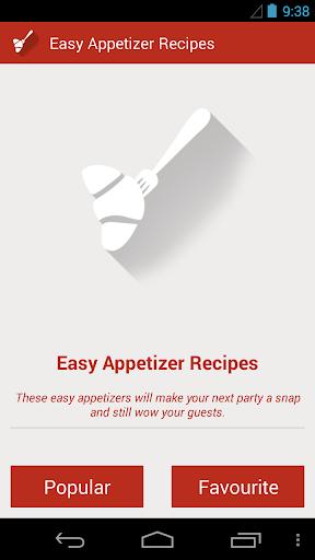 玩健康App|Easy Appetizers Recipe免費|APP試玩