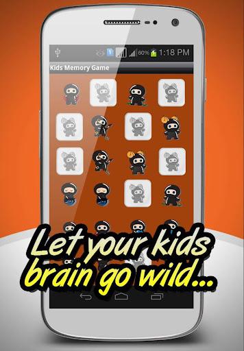 Memory Game: Ninjas