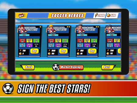 Soccer Heroes RPG 1.1.0 screenshot 38027