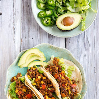 Pinquito Beans and Quinoa Taco Filling