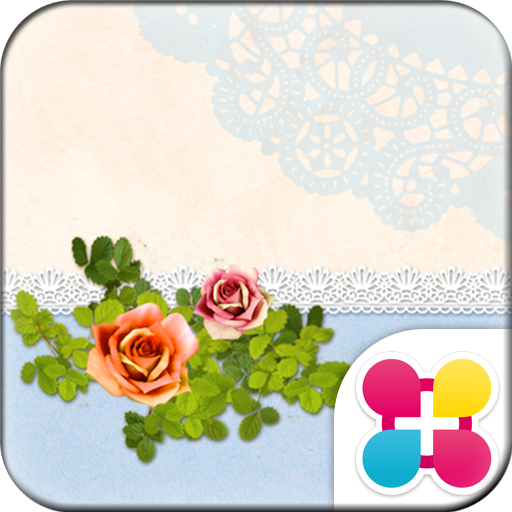 Chic Wallpaper Powder Rose Icon