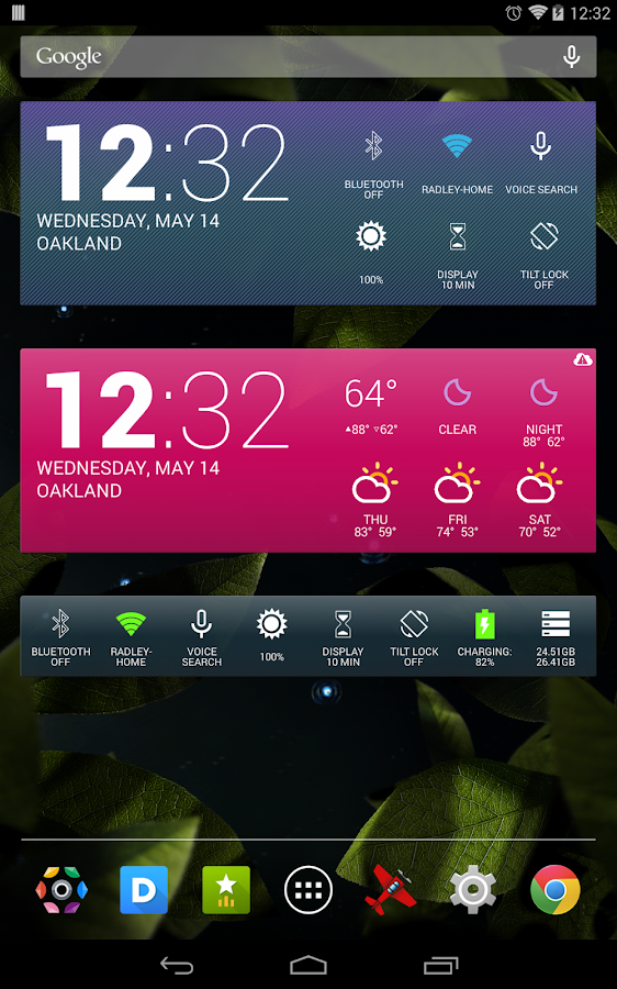 Colourform (for HD Widgets)- screenshot