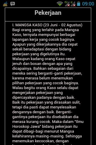 Horoskop Jawa