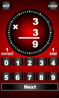 Screenshot of Timed Math Free