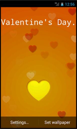 Valentine's Day Live Heart