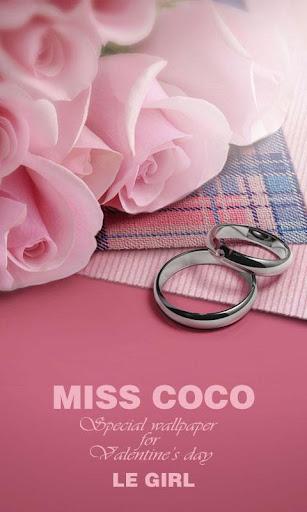 Miss COCO GO Launcher Theme