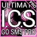 Pink Bubblegum GO SMS Pro logo