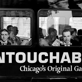 Untouchable  by VAM Photography - People Street & Candids ( b&w, bus, travel, chicago, people,  )
