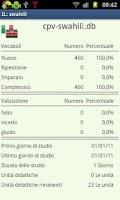 Screenshot of Imparare lo swahili